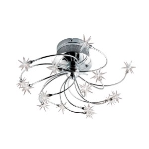Starburst 15-light Flushmount - Max. 150W - Ceiling Luminaire