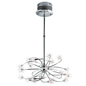 Starburst 24-light Chandelier - Max. 240W - Pendant Luminaire