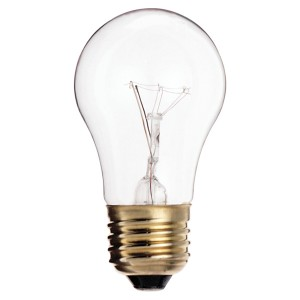 Incandenscent Bulb - 135W - E26 Base - 120V - Clear - 24 packs