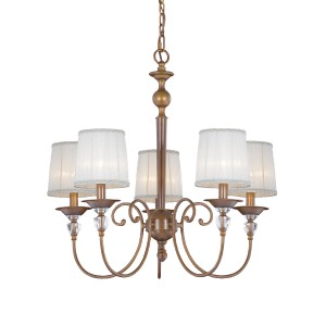 Locksley 5-light Chandelier - Max. 300W - Pendant Luminaire