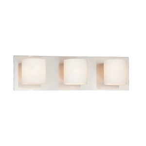 Geos 3-light Bathbar - Max. 180W - Wall Luminaire
