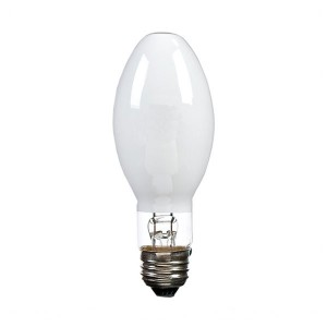 Metal Halide - 150W - 3000K Warm White - Medium (E26) Base - Universal Burn - Pulse Start - Coated Bulb - 12 packs