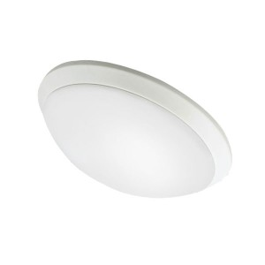 LED Flush Mount Ceiling Fixture - 15W - 4000K Natural White - 16 inch - Dimmable - 100-277V AC