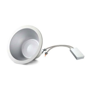 "LED 8"" Commercial Downlight - 33W - 4000K Natural White - 120-277V AC (Pack of 2)"