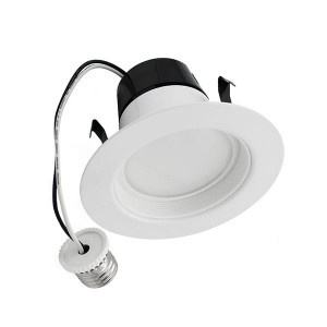 LED Downlight Retrofit Kits - 11W - 4 inch - 3000K Warm White - 120V AC