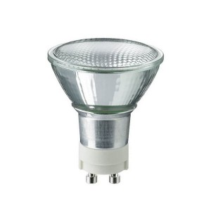 Ceramic Metal Halide Flood - 20W - 3000K Warm White - GX10 Base - Universal Burn - Clear Bulb - 12 packs