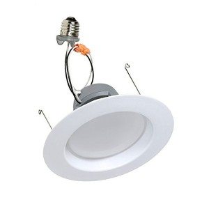 LED Downlight Retrofit Kits - 11W - 6 inch - 4000K Natural White - 120V AC