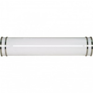 LED Glamour Venity Fixture - 26W - 3000K Warm White - Brushed Nickel - 25 inch - Dimmable - 120V AC