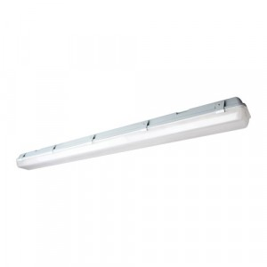 LED Vapor Proof Surface Mount Fixture - 4FT - 58W - 5000 Cool White - 120-277V AC -w/OCC Sensor