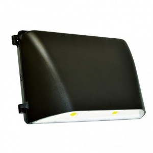 LED Large Wallpack - 76W - 5000K Cool White - 120-277V AC