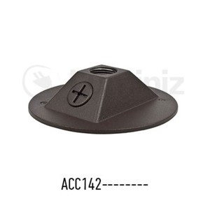 Landscape Cannon Base Plate - Compatible with SS12914----WWC/CWC - Polyvinyl Chloride(PVC)