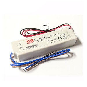 Single Output Switching Power Supply - 60W - LED Power Supply - 24V DC & 2.5 Amps Output