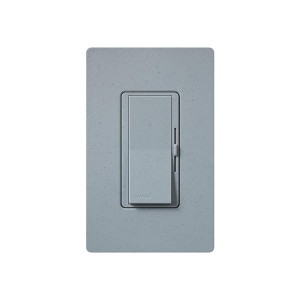 LED / CFL Dimmer - Paddle Switch - Bluestone - 120V - 600W Max. - Satin Finsh - Wall Plate Sold Separately