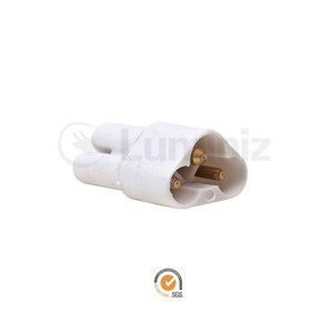 Undercabinet 1in Connector - White