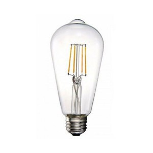 LED Vintage Edison Bulb - 5.5W - Dimmable - 2400K Soft White