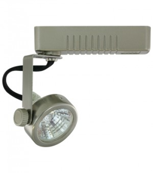 ORION Brushed Nickel Track Fixture - Max. 50W - 12VAC - Brushed Nickel