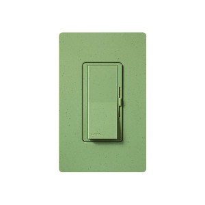 LED / CFL Dimmer - Paddle Switch - Green Briar - 120V - 600W Max. - Satin Finsh - Wall Plate Sold Separately