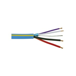 GRAFIK Eye® - Low Voltage Control Cable - Non-Plenum - 4 Conductor - 500 ft. L - 18 AWG & 22 AWG