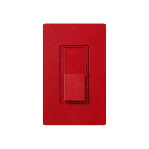 Fluorescent Dimmer - Dimming with Hi-lume® and Eco-10TM (ECO-Series) - Paddle Switch - Hot - 120V - 8A - Matte Finish - Wall Plate Sold Separately