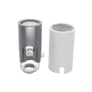 Candelabra Base Phenolic Lampholder - Screw Terminals - Candelabra E12 Base Socket - Outward