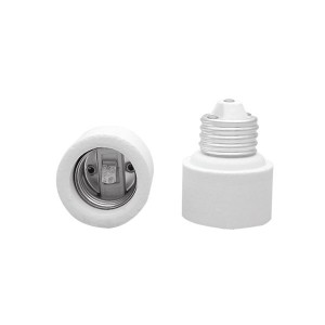Porcelain One Piece Socket Extender - Medium to Medium (E26 to E26)