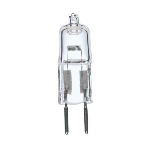 Halogen Bulb - 10W - G4 Base - 2800K Soft White - 6V - 50 packs