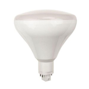 LED PL BR40 Bulb - G24q/GX24q base - 19W - 3000K Warm White - 120-277V AC