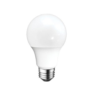 LED A19 - 6W - Dimmable - 3000K Warm White - 120V AC - 25,000 hrs lifespan