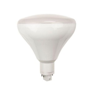 LED PL BR30 Bulb - G24q/GX24q base - 9W - 5000K Cool White - 120-277V AC