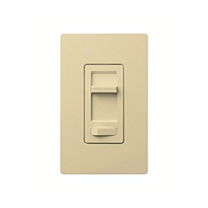 Lumea C•L Dimmer - Rocker Switch - With Captive Linear-Slide Dimmer - Ivory - 120V - Wall Plate Sold Separately