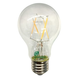 LED Omni A19 Clear Glass - 7W - 2700K Soft White (Pack of 12)