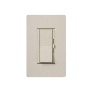 Electronic Low Voltage Dimmer - Paddle Switch - Limestone - 120V - 450W Max. - Stain Finish - Wall Plate Sold Separately