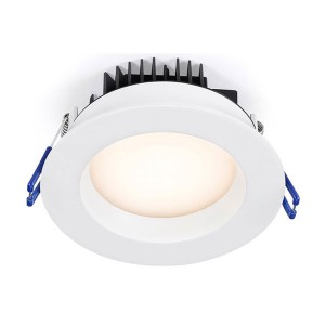 LED Round Recessed Slim Panel - White - 14.5W - 4 inch - 4100K Natural White - 120V AC