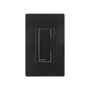 Maestro - Electronic Low-Voltage Dimmer - Digital Fade - Midnight - 120V - 600W - Wall Plate Sold Separately