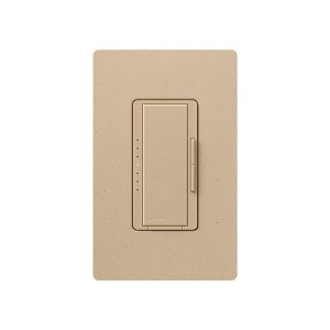 Maestro - Magnetic Low-Voltage Dimmer - Digital Fade - Desert Stone - 120V - 600VA (450W) - Wall Plate Sold Separately