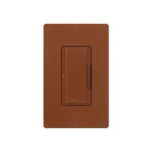 Maestro - Electronic Low-Voltage Dimmer - Digital Fade - Sienna - 120V - 600W - Wall Plate Sold Separately