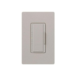 Maestro - Incandescent / Halogen Dimmer - Digital Fade - Stone - 120V - 1000W - Wall Plate Sold Separately
