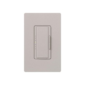 Maestro - Incandescent / Halogen Dimmer - Digital Fade - Taupe - 120V - 1000W - Wall Plate Sold Separately
