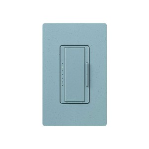Maestro - Magnetic Low-Voltage Dimmer - Digital Fade - Bluestone - 120V - 600VA (450W) - Wall Plate Sold Separately