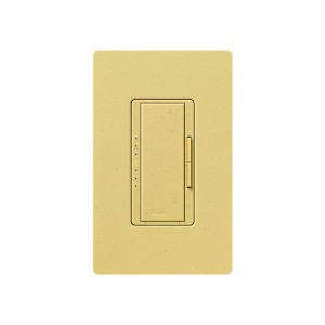 Maestro - Magnetic Low-Voltage Dimmer - Digital Fade - Goldstone - 120V - 600VA (450W) - Wall Plate Sold Separately