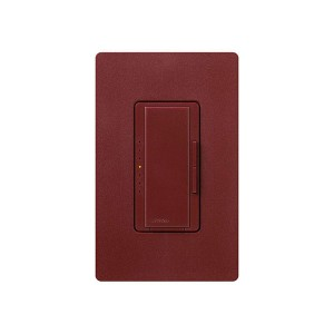 Maestro - Electronic Low-Voltage Dimmer - Digital Fade - Merlot - 120V - 600W - Wall Plate Sold Separately
