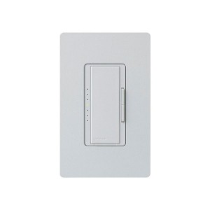 Maestro - Electronic Low-Voltage Dimmer - Digital Fade - Palladium - 120V - 600W - Wall Plate Sold Separately