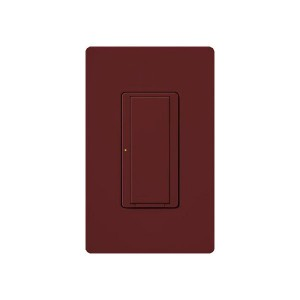 Maestro - Digital Switches - Merlot - 120V - 8A Light / 3A Fan - Wall Plate Sold Separately