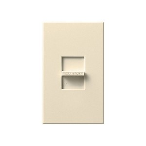 Nova T - Incandescent / Halogen Dimmer - Slide to Off - Beige - 120V -  600W - Wall plate Included
