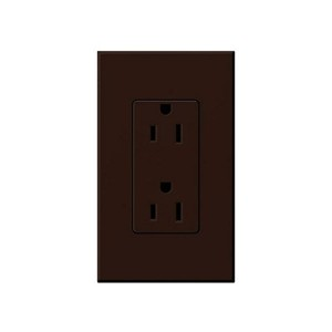Nova T - Receptacle - Duplex - 125V - 20A - Brown