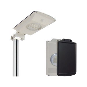 Solar Security Light - 8W - 6500K Stark White - Water Resistant