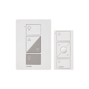 Caseta Wireless Smart Lighting Lamp Dimmer and Remote Kit - White