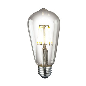 LED Edison Bulb - 6W - Dimmable - 2400K Soft White