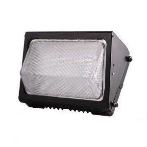 LED Wall Pack - 40W - 5000K Cool White - 120-347V AC - DLC 4.2 - 4822lm - Glass Cover