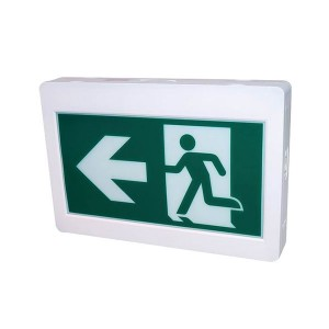 LED Running Man Exit Sign - 120-347V - 3.6V Ni-cad Battery